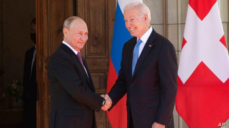 Cimeira EUA/Rússia: Lisboa informou Putin de que Biden reside na Casa Branca, Avenida da Pensilvânia, Washington